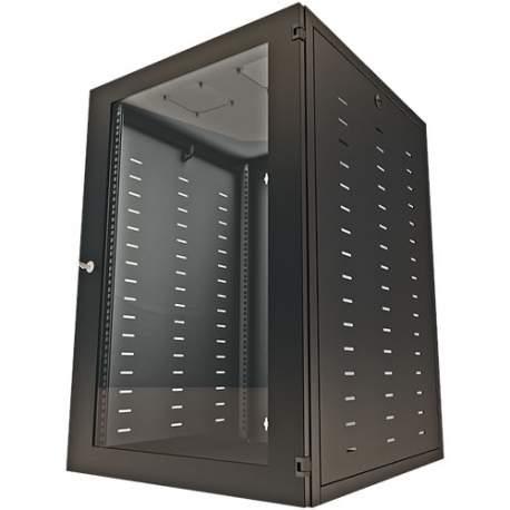 Gabinete Rack Easy Parede 16u X 535l X 19´´ X 370 Dtec Montado