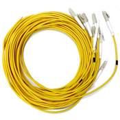 Pig Tail 1,5 Mt Lc Simplex Mm 50/125 C/10 Pçs Fiberlock 12129/fibra Upc
