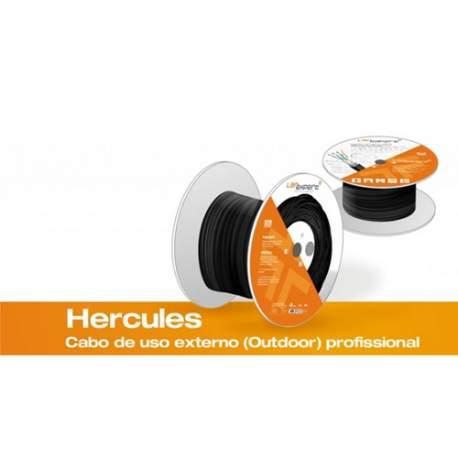 Cabo de Rede C5ehc-bk-prto Stp Cat5e Hercules Lan Expert Blind. 1 Metro