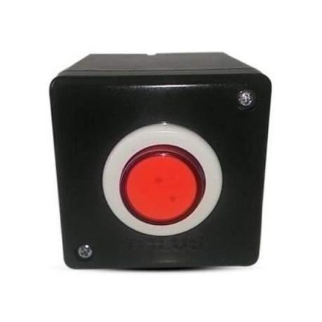 Botao P/acionamento Preto/vermelho Stilus Bapto