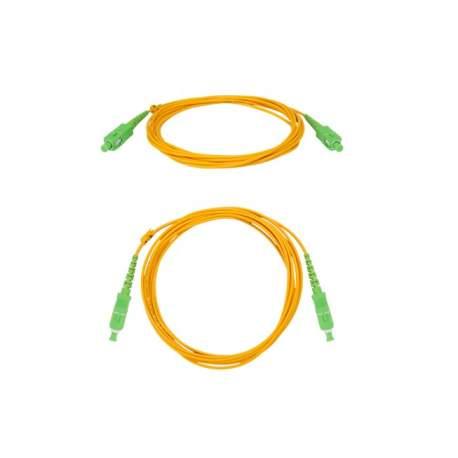 Cordao Optico Sc/apc Sm - 2,0mm 3m - Intelbras Xfc 2 4830045 /fibra