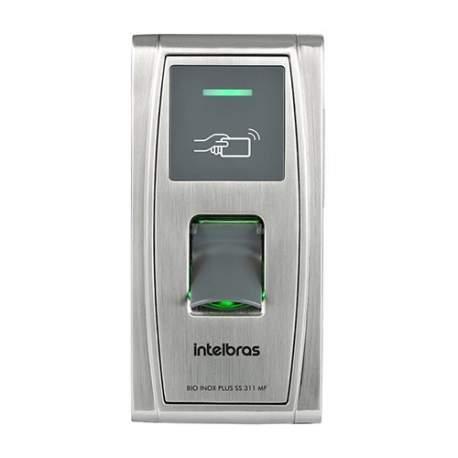 Controlador de Acesso Bioinox Plus Ss 311 Mf 4682055 Intelbras