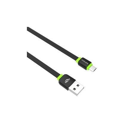 Cabo Usb 2.0 P/celular Micro Usb 1,00mt C3 Tech Cb-100wh Alt013152