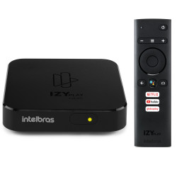 Smart Box Intelbras Izy Play TV
