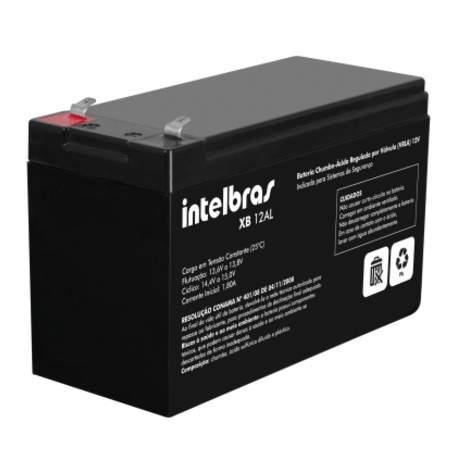 Bateria Selada P/alarme 12v/6,0ah Xb 12al Intelbras-ac 4821001