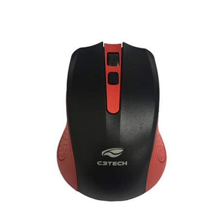 Mouse Usb S/fio Nano M-w20rd Vermelho C3 Tech